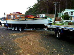 Boat towing up to 5m anywhere on the South Coast NSW.
