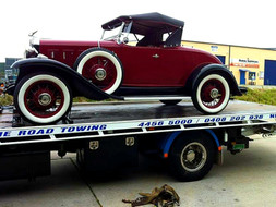 Transportation of Vintage Cars - We'll take good care of your pride and joy!