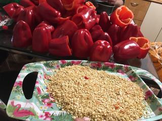 Переработка перцев на семена