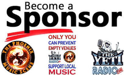 BECOME A SPONSOR AT THE YETI RADIO
