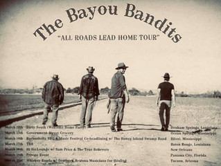 THE BAYOU BANDITS - JOSHUA STRICKLAND INTERVIEW