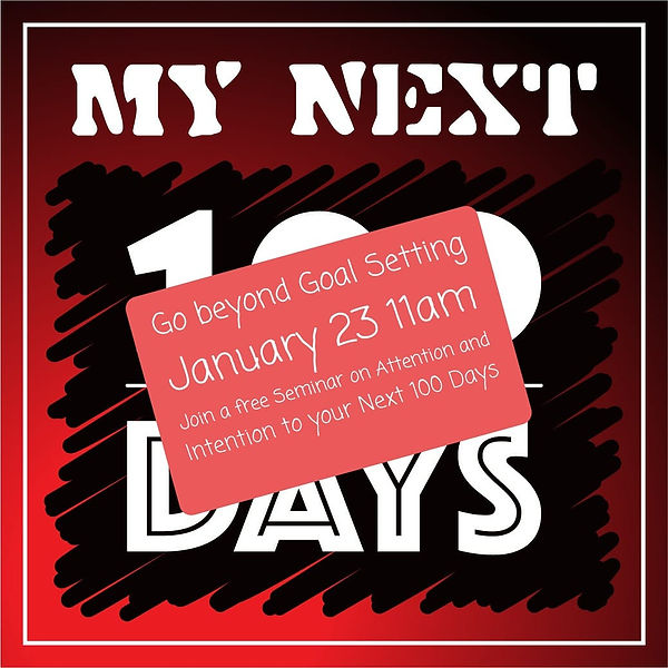My Next 100 Days Jan 23 launch