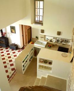 cuisine ouverte en maçonnerie