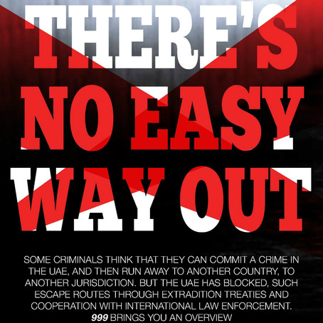 No Easy Way Out - 999 Magazine!