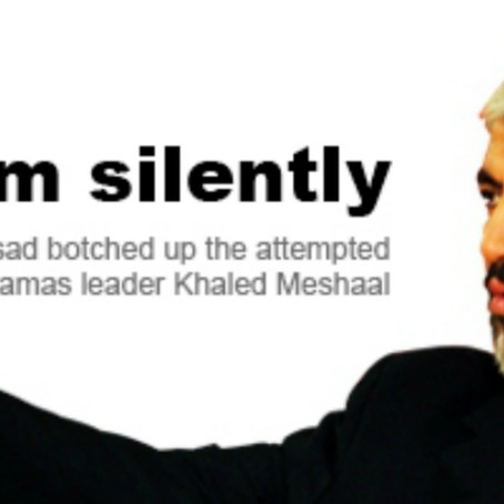 Analysis: Assassination attempt on Hamas leader Khaled Meshaal