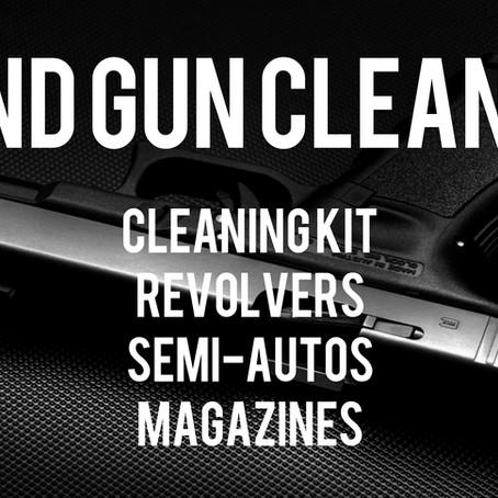 Cleaning Handguns - Videos