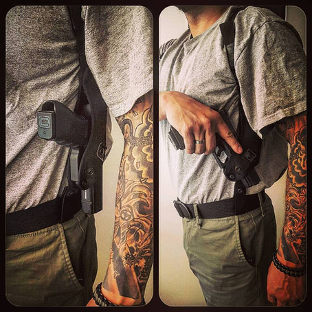 Tactical Pistol Training: Cross Draw Holsters
