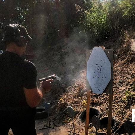 Combat Pistol Training in Europe