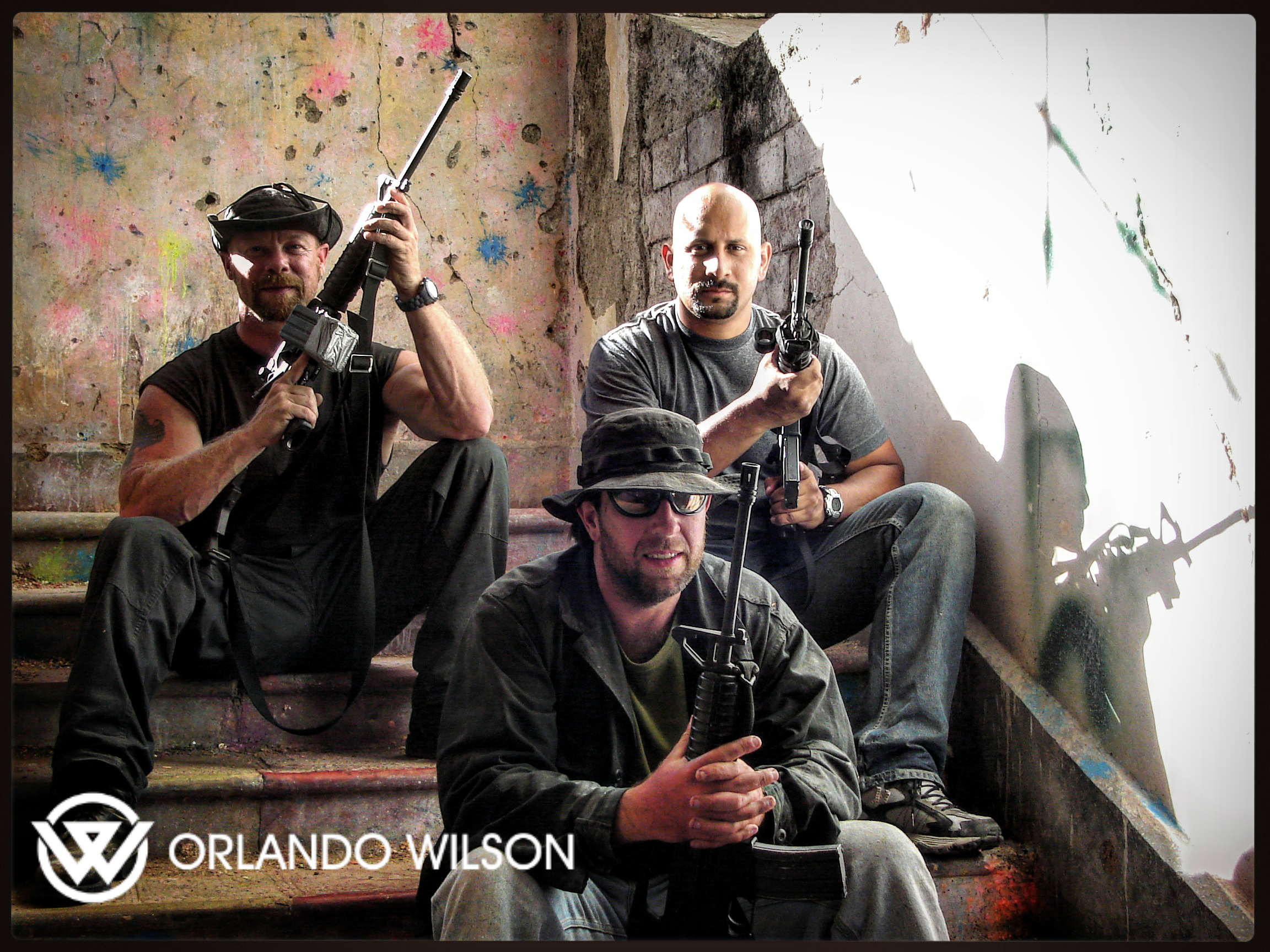 Orlando Wilson – Tactical, Weapons & Security Expert