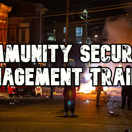 Community Security Management Training