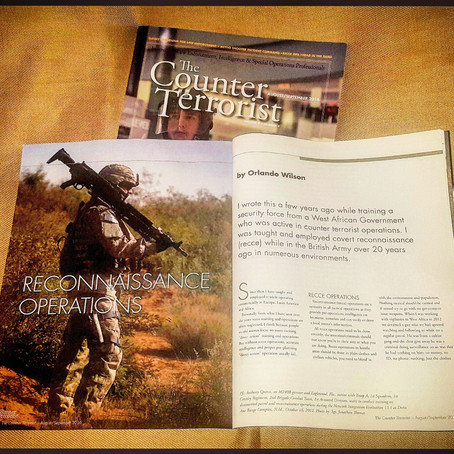 Counter Terrorist Magazine: RECCE Operations