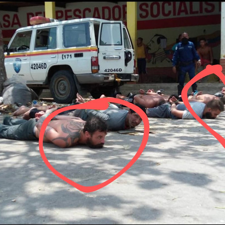 "Mercenary ""ClusterF#ck"" - Americans Captured in Venezuela"