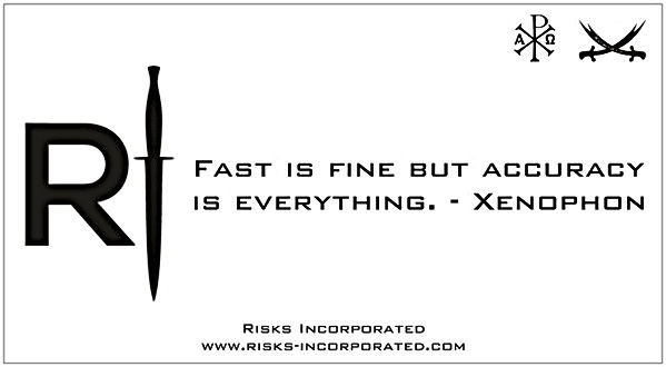 Fast is fine but accuracy is everything.