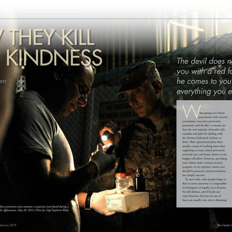 Kill With Kindness… The Counter Terrorist Magazine