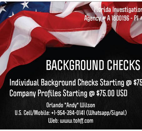 Background Checks in U.S.