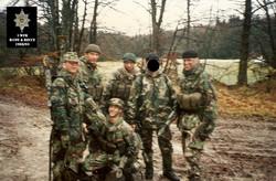 RECCE PLT - 1 WFR - GERMANY - BRITISH ARMY