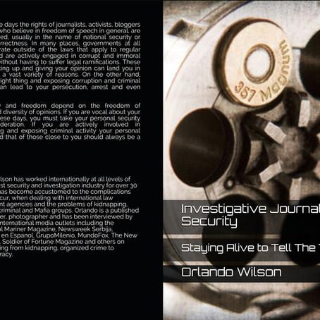 Book: Investigative Journalist Security