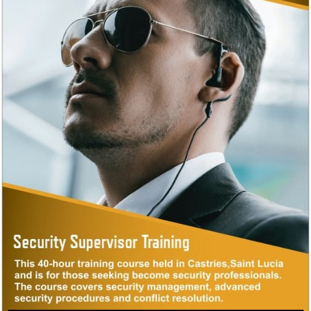 Caribbean Security Supervisor Training
