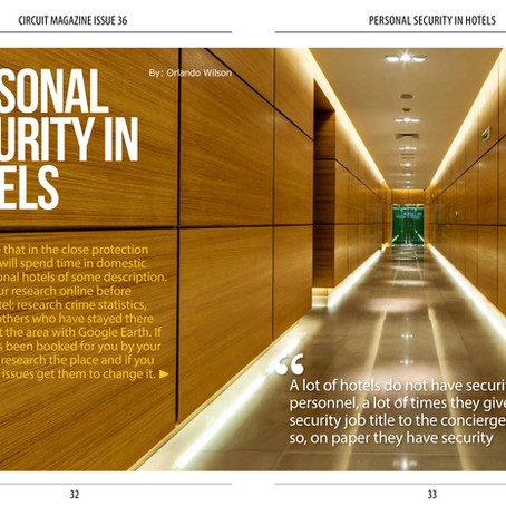 Personal Security in Hotels - The Circuit Magazine