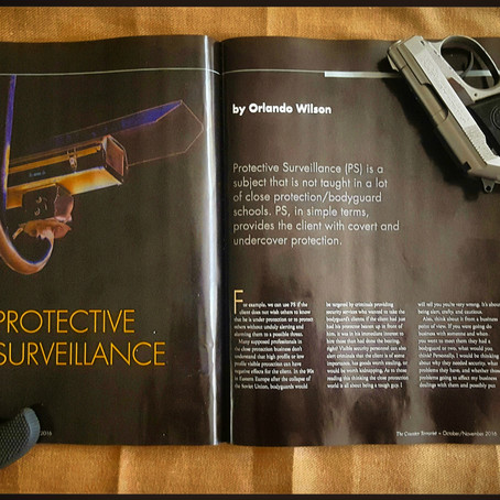 The Counter Terrorist Magazine: Protective Surveillance