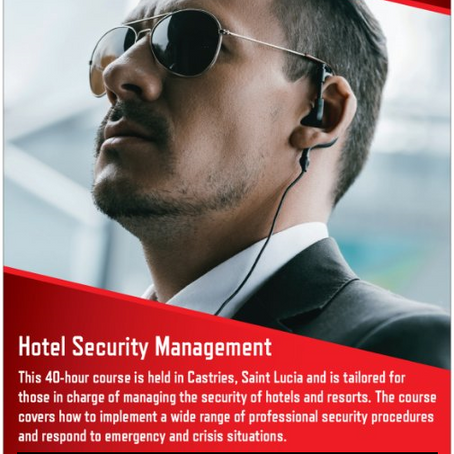 Caribbean Hotel Security Management Training