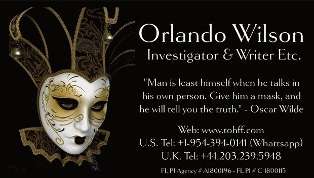 Orlando Andy Wilson Investigator