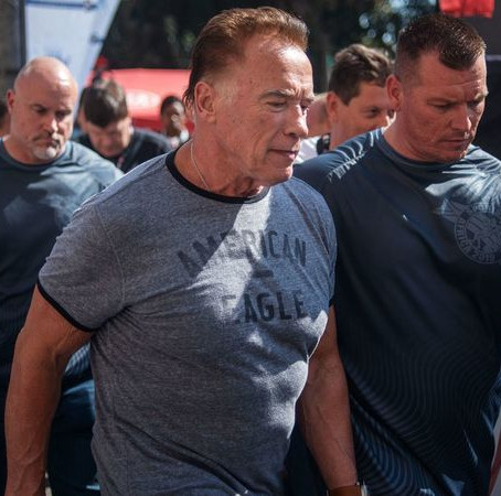 Arnold Schwarzenegger - SECURITY FAIL!