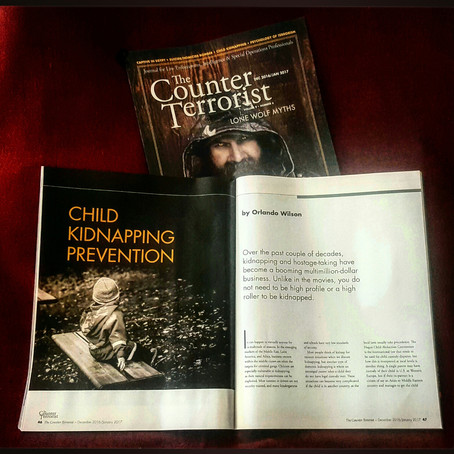 The Counter Terrorist Magazine: Child Kidnap Prevention!