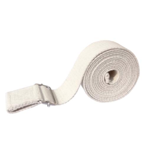 Yoga Strap with buckle חגורת יוגה עם טבעות ברזל