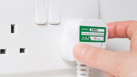 Electrician's Hands