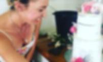 Kristin Hilton wedding cake