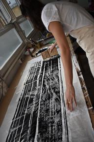 Korean painting brush