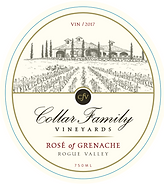 Collar Family Vineyards Rose of Grenache