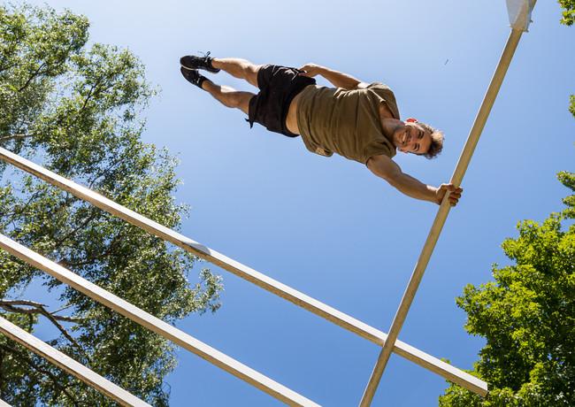 Benni grams Parkour Action Stunt Abenteuer
