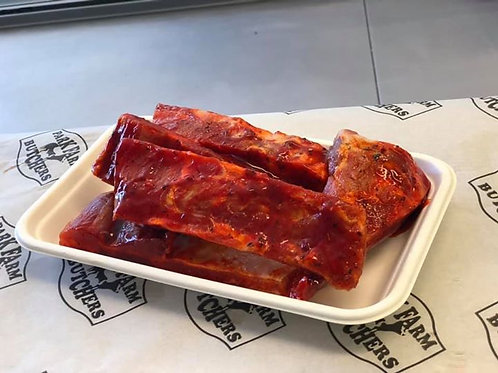 Smokey BBQ Pork Ribs Pack of 6