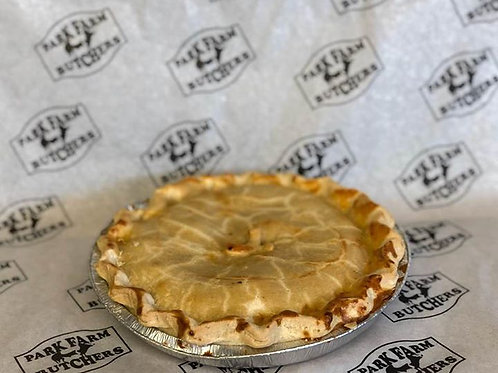 Large Chicken and Bacon Pie