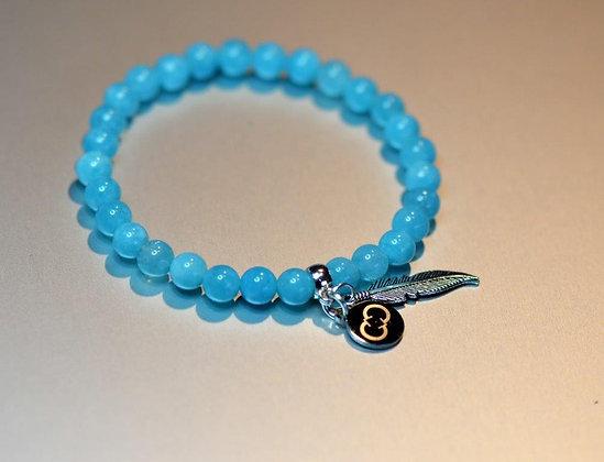 Amazonite Blue Bracelet