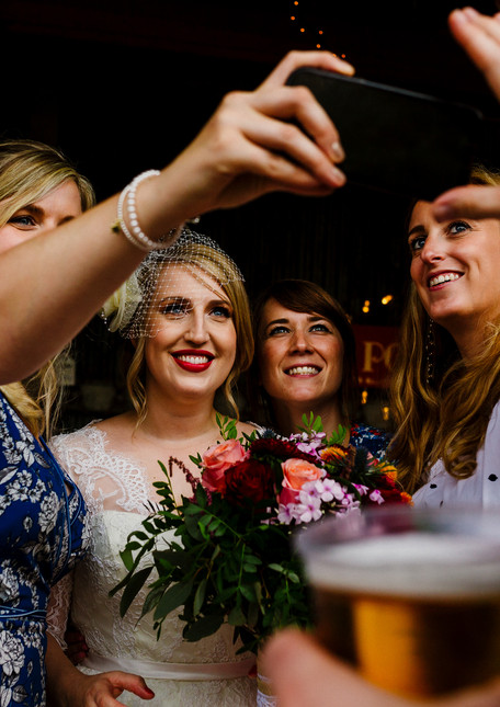 Non traditional wedding by north east wedding planners