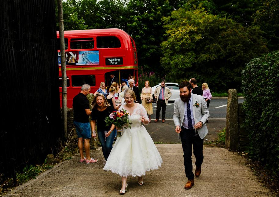 Donna Hartley-Redfearn onsite farm wedding co-ordination