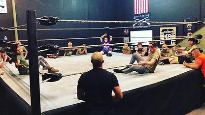 The Academy: School of Professional Wrestling - Training