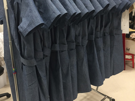 Strange Angel Factory Uniforms