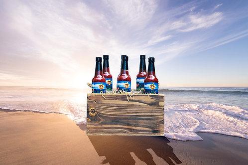 33 Peppers Island Style Datil Pepper Sauce - Half Case (6 Bottles)