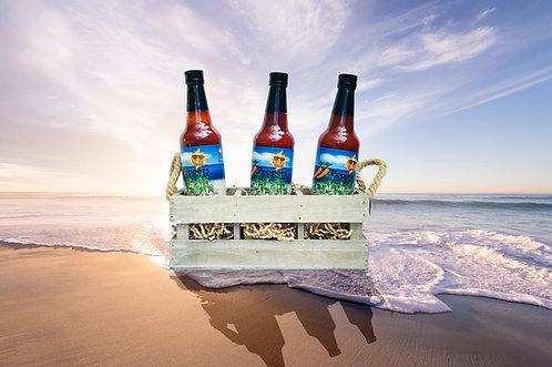 33 Peppers Island Style Datil Pepper Sauce - 3 Bottle Pack