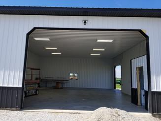 Closeup Shot   Post Frame Building   CPS   Hunnewell, Missouri