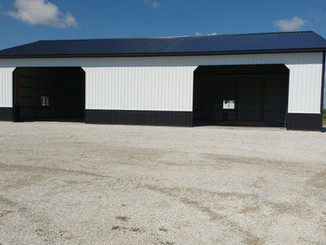 Finished Building   Post Frame Building   CPS   Hunnewell, Missouri