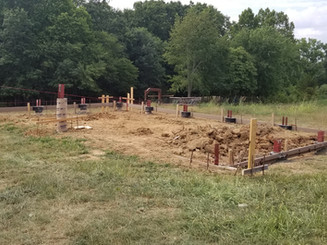 Foundation   Post Frame Building   CPS   Hunnewell, Missouri