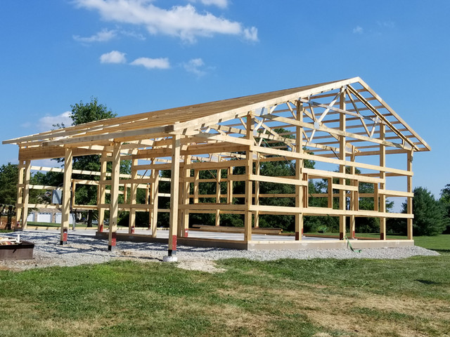 Concrete Pier System | Post Frame Building | CPS | Hunnewell, Missouri