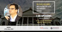 Bangalore Blockchain Summit  - One of Ba