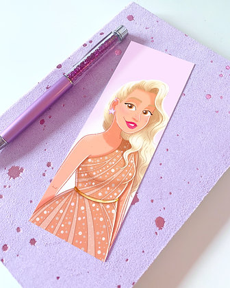 'Ella' Illustrated Bookmark
