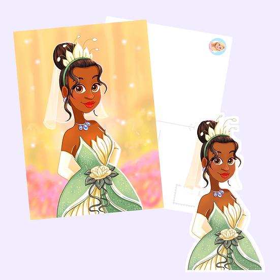 Tiana Postcard Print & Sticker